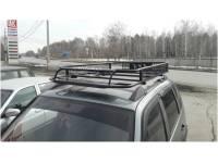 Багажник на Шевроле Нива Вепрь с сеткой 50х50
